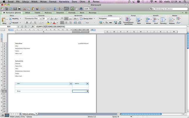 Przygotowanie dokumentu do druku w Excelu zajmuje sporo czasu