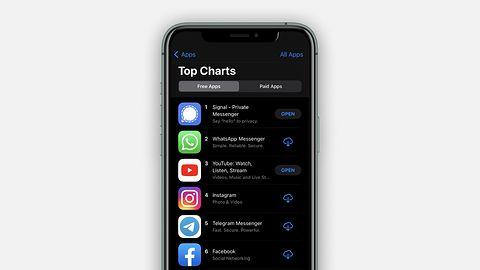 """Signal jest """"Top Trending"""" aplikacją na połowie globu. Jak to się stało? Musk, Trump na Gadu-Gadu i """"pomoc"""" Facebooka"""