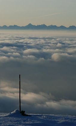 Beskidy - zagrożenie lawinowe na Babiej Górze