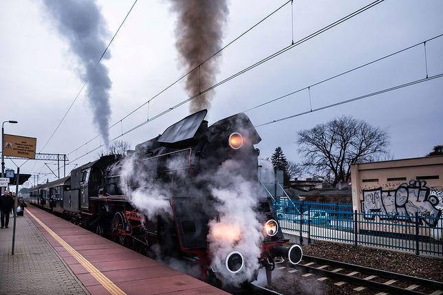 Pociągi prowadzone przez parowóz wróciły do rozkładu jazdy w Wielkopolsce