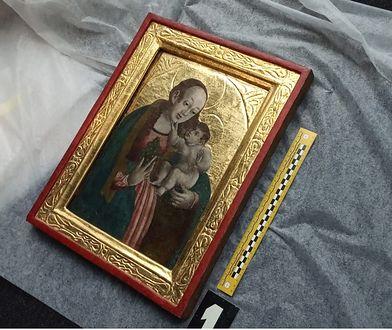 Skradziony obraz, wart ok. 100 tys. złotych, znaleziono w Warszawie