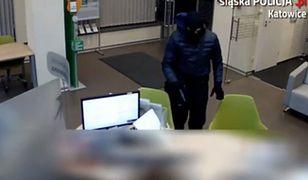 Policja szuka napastnika, którego nagrał monitoring podczas napadu