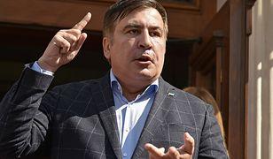 Micheil Saakaszwili został wydalony z Ukrainy do Polski