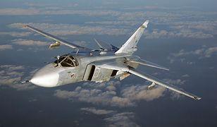 Rosjanie stracili bombowiec Su-24. Los pilotów jest nieznany