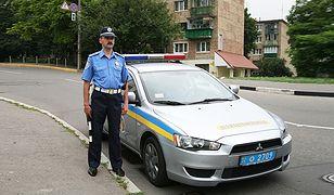 Fałszywe patrole drogówki na Ukrainie
