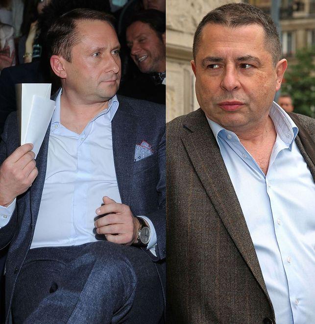 Kamil Durczok i Bronisław Wildstein