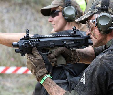 GROM Challenge to jedyny bieg, podczas którego strzela się z ostrej amunicji.