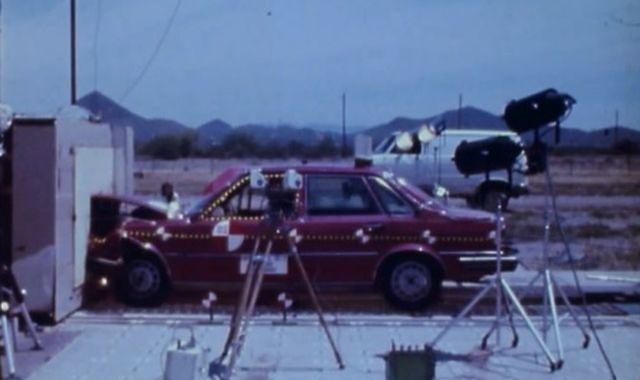 75 lat crash-testów Audi