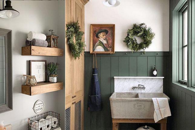Niewyczerpanym źródłem inspiracji w aranżacji wnętrz jest styl prowansalski. Łazienka w kolorach zieleni i lawendy pozwala wszystkimi zmysłami przenieść się na francuskie wybrzeże