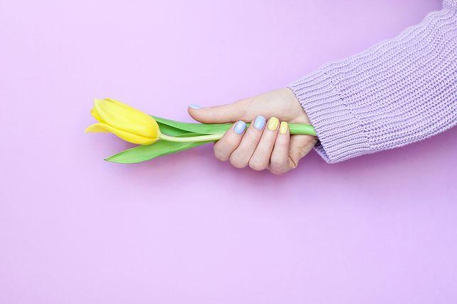 Pastelowy manicure będzie przyjemną odmianą po zimie
