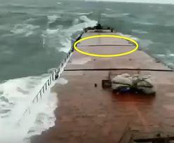 Katastrofa na Morzu Czarnym. Do sieci trafiło jej przerażające nagranie