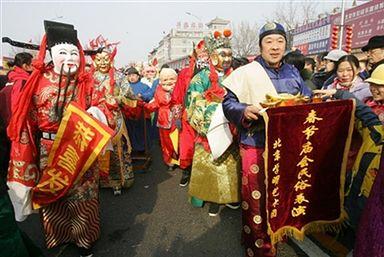 Obchody Księżycowego Nowego Roku w Chinach