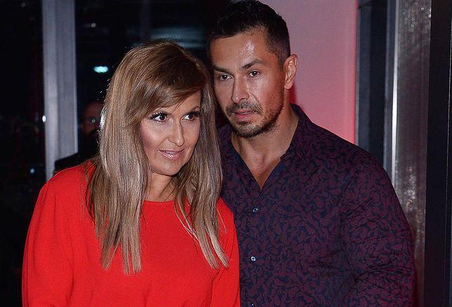 Katarzyna Skrzynecka z mężem Marcinem Łopuckim
