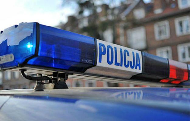 Policja zatrzymała półnagiego mężczyznę