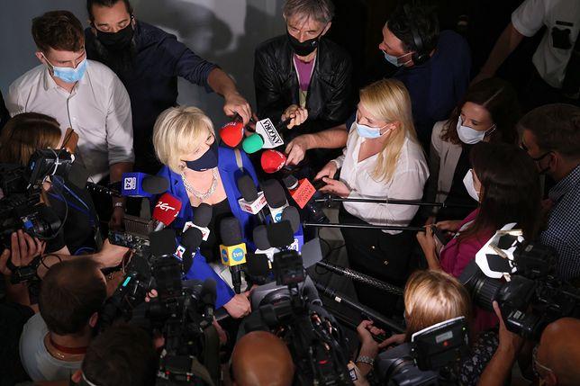 Senat odrzucił kandydaturę Lidii Staroń na RPO