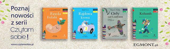 Seria wydawnicza Egmont zadowoli zarówno dzieci jak ich rodziców