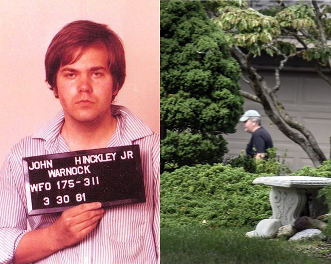 Jonh Hinckley Jr. po zatrzymaniu w 1981 r. i w 2016 r. widziany na ulicy w pobliżu rodzinnego domu w Williamsburgu w stanie Virginia