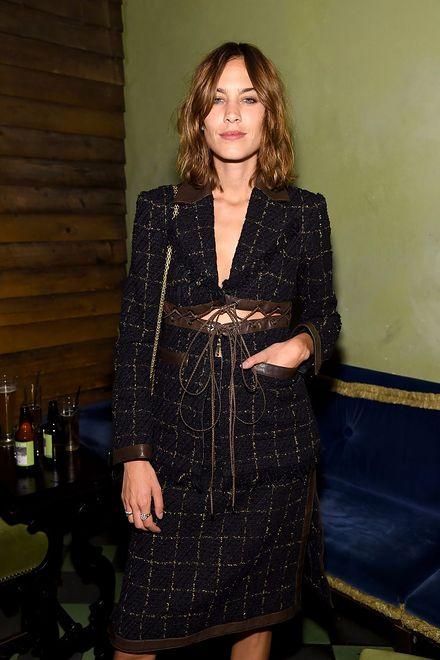 Alexa Chung na imprezie Chanel Fine Jewerly