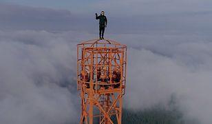 Polski youtuber wspiął się na jedną z najwyższych konstrukcji w Niemczech. Widok zapiera dech w piersiach!