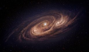 Naukowcy sądzą, że galaktyka może pożerać inną