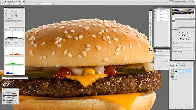 Zobacz na wideo, jak McDonald's photoshopuje swoje hamburgery!