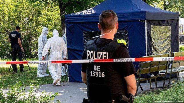 Berlin. W stolicy Niemiec zginął Czeczen