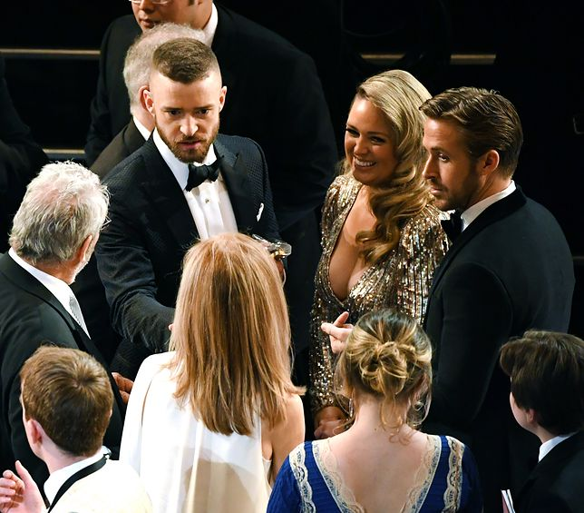 onstage during the 89th Annual Academy Awards at Hollywood & Highland Center on February 26, 2017 in Hollywood, California.