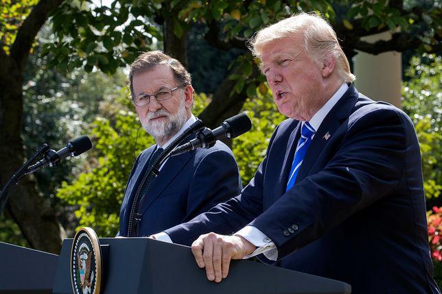 """Donald Trump przeciwko niepodległej Katalonii. """"Powinni pozostać z Hiszpanią"""""""