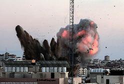 Izrael. Bombardowania Strefy Gazy. Odwet za ataki. To kolejne złamanie zawieszenia broni.
