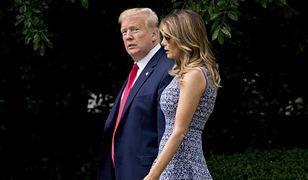 Melania Trump zachwycona nowym ogrodem. Internauci mają inne zdanie
