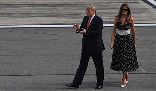 Melania i Donald Trump przeszli długą drogę. Ekspertka od mowy ciała komentuje