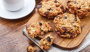 Ciasteczka owsiane fit - dietetyczne przepisy