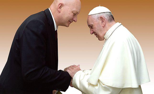 Spotkanie Daniela Pitteta z papieżem Franciszkiem, 16 czerwca 2016