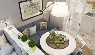 Salon z sypialnią, czyli kreatywny kompromis