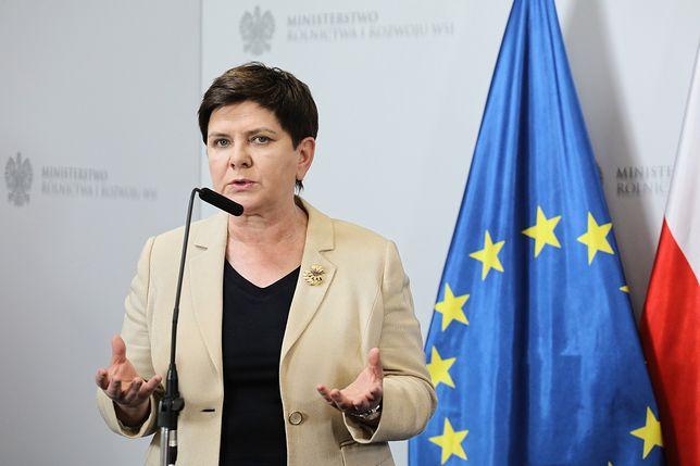 Beata Szydło bez kandydatury w PE