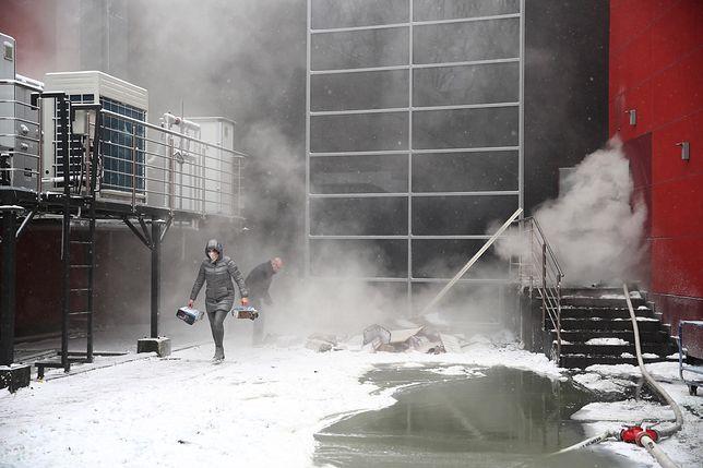 Kraków. Strażacy kolejną dobę będą gasić pożar w miejskim archiwum