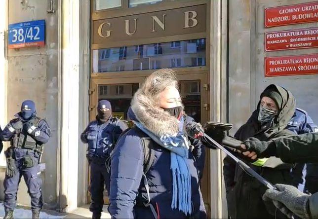 Strajk Kobiet w Warszawie. Pikieta po zatrzymaniu Wojciecha B.