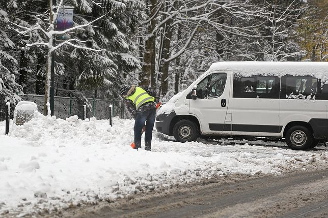 Śnieg spodziewany jest przede wszystkim na północy kraju