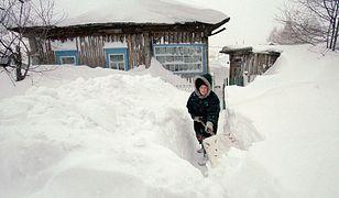 Na Syberii minusowe temperatury sięgają nawet -60 st. C