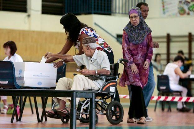 Przedterminowe wybory parlamentarne w Singapurze