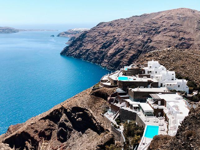 Widoki na Santorini są nieziemskie