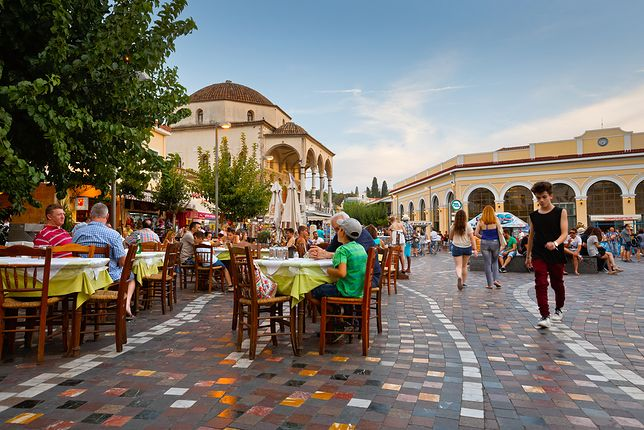 Ateny. Grecja. Stolica w ekspresowym tempie