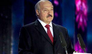 Informacja o wylewie prezydenta Białorusi pojawiła się w poniedziałek