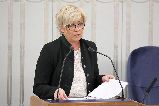 Prezes TK Julia Przyłębska zapowiedziała, że TK zbada konstytucyjność nakazu publikacji list poparcia do KRS