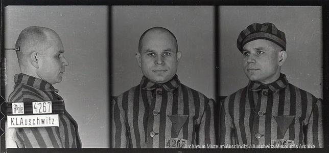 Antoni Kocjan, więzień KL Auschwitz