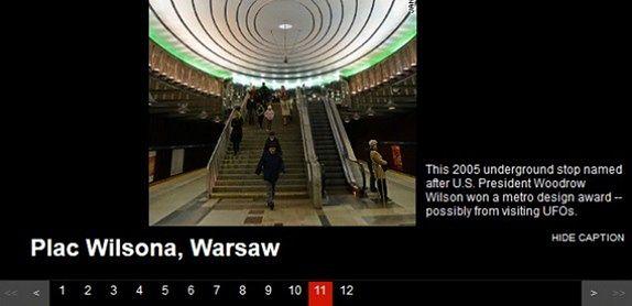 CNN wyróżniło stację metra Plac Wilsona!