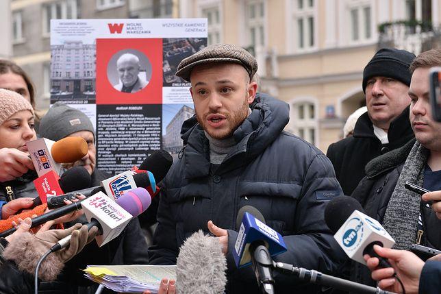 Jan Śpiewak, szef stowarzyszenia Wolne Miasto Warszawa. To on nagłośnił aferę reprywatyzacyjną