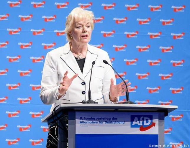 Erika Steinbach walczy o dotacje dla fundacji AfD