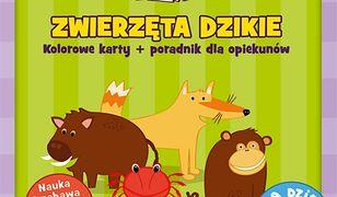 Karty obrazkowe dla dzieci - Zwierzęta dzikie