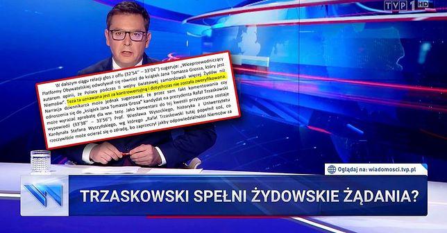 "Kolejna skarga na TVP. Tym razem za materiał o ""żydowskich żądaniach"""